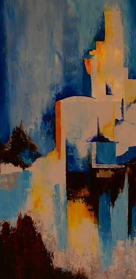 Moderne blue